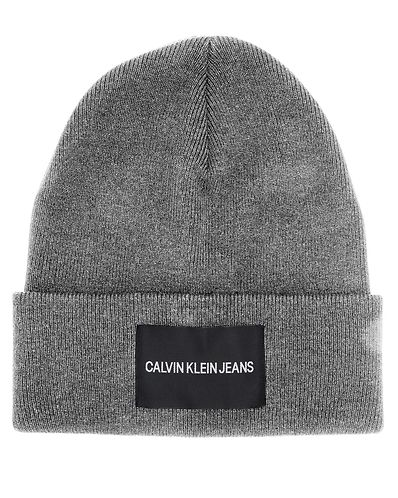 Clavin Klein Jeans Beanie Mid Grey Heather. Calvin Klein Jeans b385e4b75009