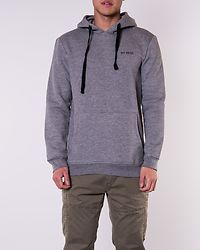 Brian Hoodie Sweat Medium Grey Melange