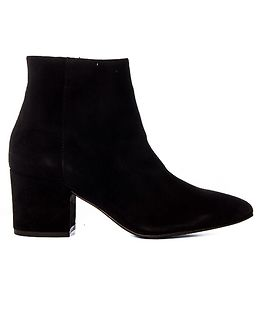 Astrid Leather Boot Black