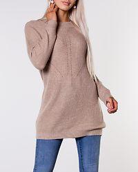 Portia Long Pullover Knit Beige/Melange