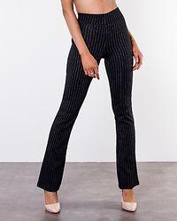 Charlotte Push Up Legging Black/Striped
