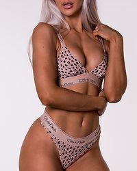 Unlined Bralette Savannah Cheetah