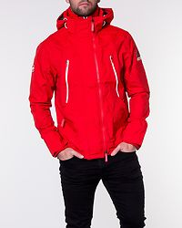 Technical Hooded Windattacker Salsa Red