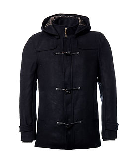 Tommy Duffle Coat Black