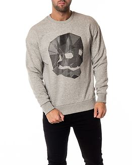 Dene Sweat Crew Neck Grey Melange