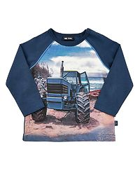 T-Shirt LS Tractor Dress Blues