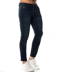 Ibaka Skinny Fit Jeans Dark Blue
