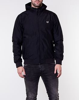 Hooded Brentham Jacket Black