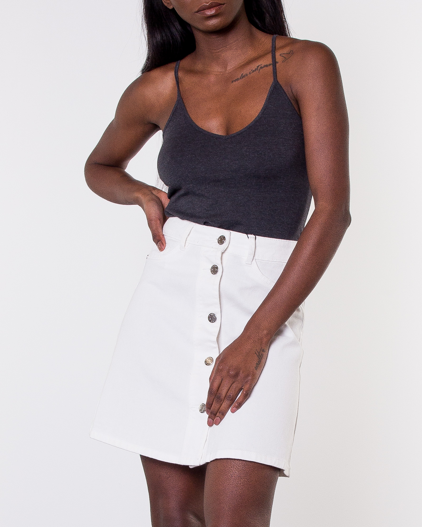 e2622288a69101 Noisy may, Sunny Short Skater Skirt Bright White | Women's Skirts |  HOUSEOFBRANDON.COM