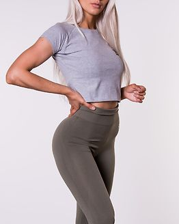 Chelsea Tee Grey Melange