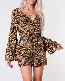 Dakota Playsuit Leopard
