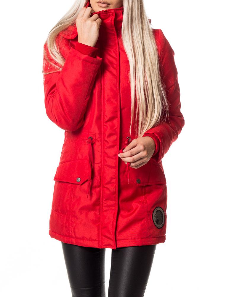 Vila, Mates New Fur Parka Coat Cloud Dancer | Women's Jackets ...