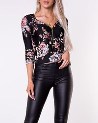 Marion Top Black/Patterned