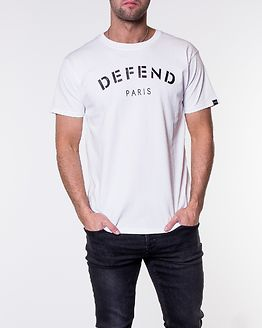 Defend Tee White