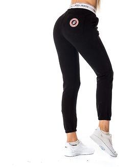 Elastic Jogger Pants Black