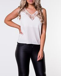 Turin Lace Singlet Offwhite