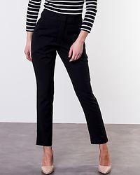 Side Stripe Twill Pants Black
