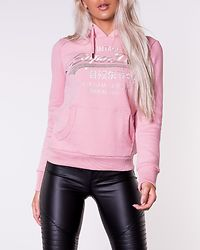 Premium Goods Luxe Emb Entry Hood Pink Nectar