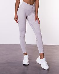 Cloud Elevate Seamless Tights Light Grey