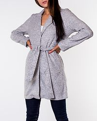 Nina Brushed Jacket Light Grey Melange