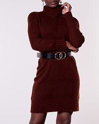 Debbie Rollneck Dress Smoked Paprika/Melange