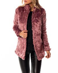 Viva Fur Coat Mesa Rose