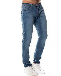 Furyk Skinny Fit Denim Jeans Light Blue