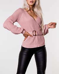 Delilah Knitted Sweater Dusty Pink