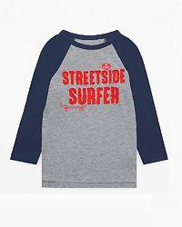 T-Shirt LS Mid Grey Heather