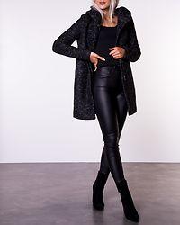 Sedona Boucle Wool Coat Black/Melange