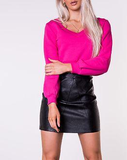 Cropped Sweatshirt Pink