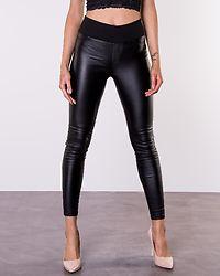Freja Push Up Coated Pants Black