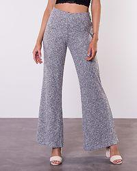 Sloan Knit Pant Light Grey Melange