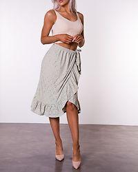 Kawa Midi Wrap Skirt Desert Sage