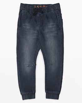 Denim Pants Dark Grey