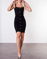 Lea Smock Dress Black