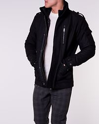 Joey Wool Jacket Black