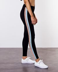 Mirada Jersey Leggings Black