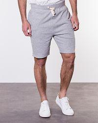 Basic Sweat Shorts Light Grey Melange