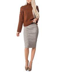 Hermosa Skirt Light Grey Melange