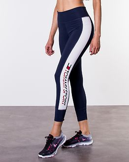 Legging 7/8 Side Logo Sport Navy