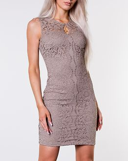 Corso Scallop Lace Dress Light Nougat