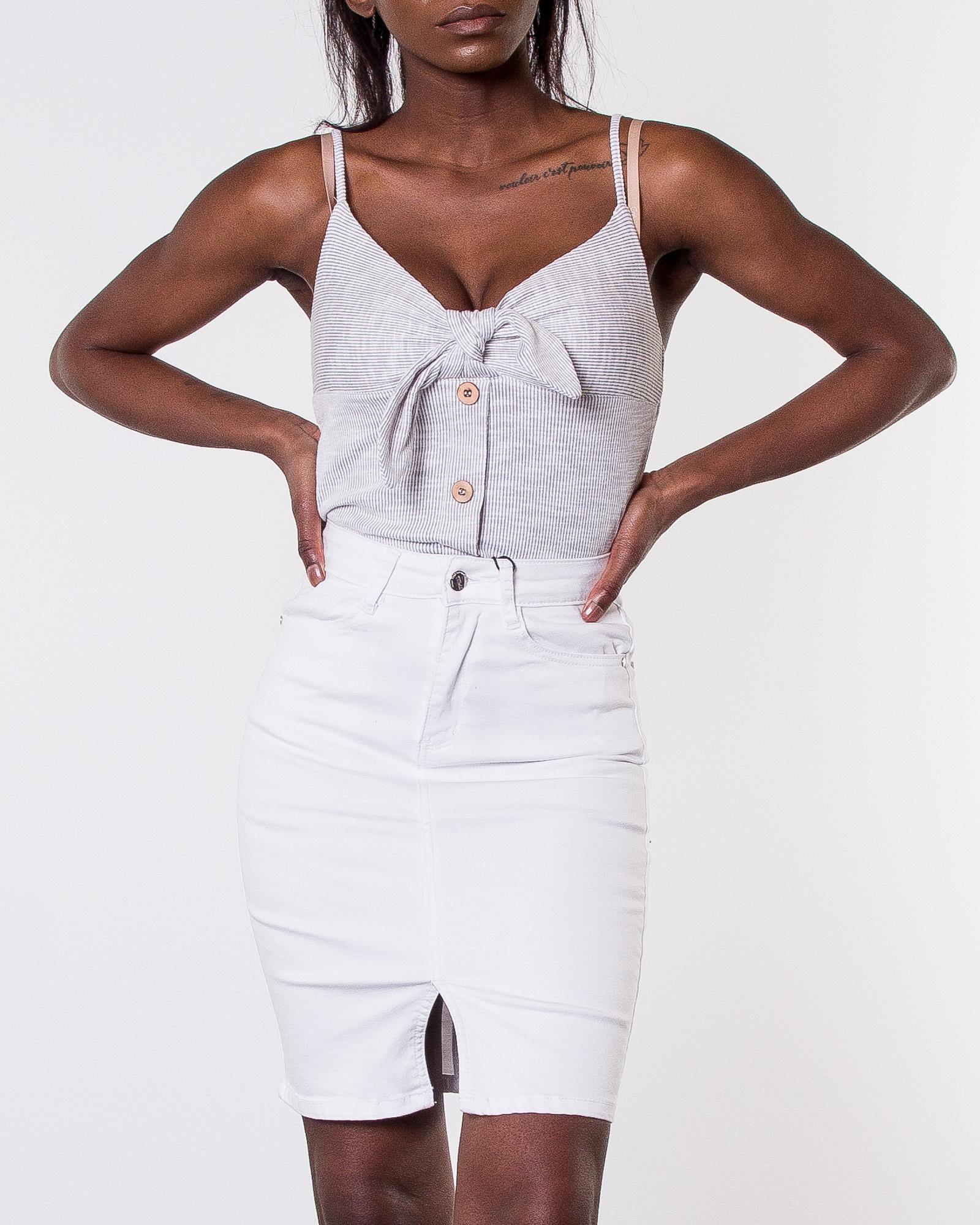 73e42f48d9b 77th Flea, Bianca Superstretch Skirt White | Women's Skirts ...