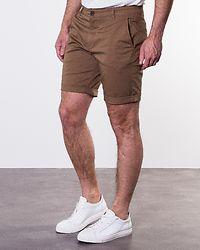 Straight Paris Shorts Camel
