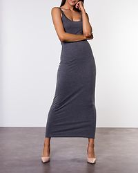 Heather Dress Medium Grey Melange