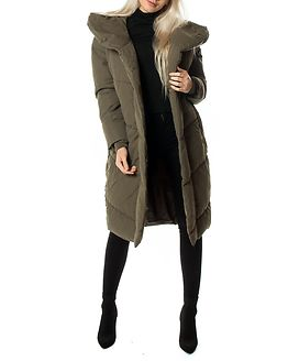 Tally Long Jacket Dusty Olive