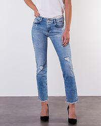 Sui R An Slim Jeans Light Blue Denim