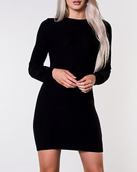Richard O-Neck Knit Dress Black