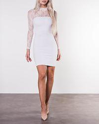 Jackie Lace Dress White