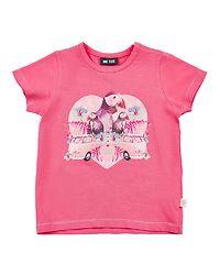 T-Shirt Bird Camellia Rose